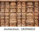 Ancient Sandstone Carvings On...