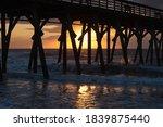 Sunrise Below The Fishing Pier...