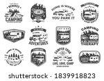 set of rv camping badges ... | Shutterstock .eps vector #1839918823