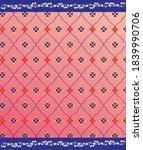 indian gotta jaal vector design ...   Shutterstock .eps vector #1839990706