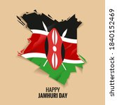 kenya independence day or happy ... | Shutterstock .eps vector #1840152469