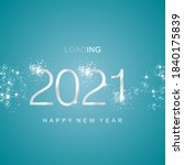 New Year 2021 Loading Silver...