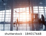 Постер, плакат: Silhouette of luggage