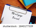 Business Concept About Mortgage ...