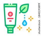 nutritious cream icon vector.... | Shutterstock .eps vector #1840193899