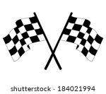 checkered vector flag.