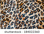 fabric tiger skin texture... | Shutterstock . vector #184022360
