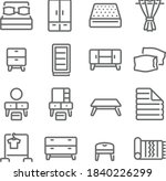 bedroom furniture icon... | Shutterstock .eps vector #1840226299