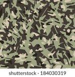 military style seamless pattern ...