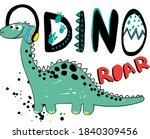 dude dinosaur. hand drawing...   Shutterstock .eps vector #1840309456