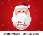 santa claus wearing a...   Shutterstock .eps vector #1840321009