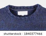 wool texture. chunky knit wool  ... | Shutterstock . vector #1840377466