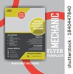 automotive repair templates ... | Shutterstock .eps vector #1840447840