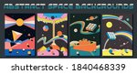 abstract space backgrounds ... | Shutterstock .eps vector #1840468339