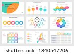 set of presentation slides  ... | Shutterstock .eps vector #1840547206