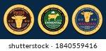 vector swiss cheese round... | Shutterstock .eps vector #1840559416