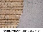 Loose Layer Of Plaster From A...