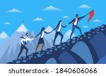 abstract concept of way to... | Shutterstock .eps vector #1840606066
