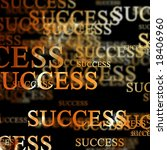 success on a black background | Shutterstock . vector #18406960