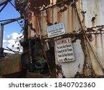 Photos Taken Of An Abandoned...