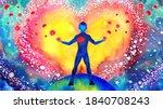 Human Heart Healing Flower Flow ...
