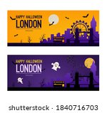 london halloween holiday... | Shutterstock .eps vector #1840716703