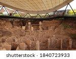 Ancient Site Of Gobekli Tepe  ...