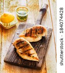 ������, ������: Healthy grilled chicken breasts