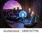 Magic Potions Bottles  Burning...