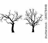 vector tree with branches in... | Shutterstock .eps vector #184078448