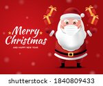 merry christmas and happy new... | Shutterstock .eps vector #1840809433
