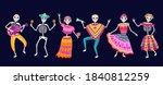 Dancing Skeletons. Dead Day...