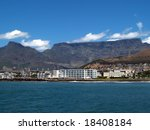 Table Mountain From The Sea...