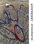 Old Teenage Bike In The Yard
