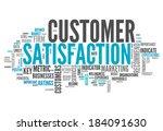 word cloud with customer... | Shutterstock . vector #184091630
