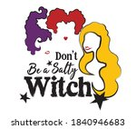 halloween quote on white... | Shutterstock .eps vector #1840946683