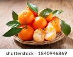 Fresh mandarin oranges fruit or ...