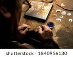 Hand Made Silver Items With...