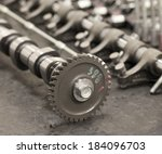 car engine parts | Shutterstock . vector #184096703