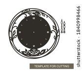 Decorative Round Clock With...