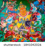 kathmandu  nepal   march 01 ... | Shutterstock . vector #1841042026