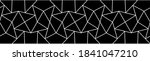 Geometric Border Pattern With...