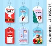 various types of merry...   Shutterstock .eps vector #1841052799