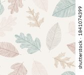 beautiful seamless doodle... | Shutterstock .eps vector #1841074399