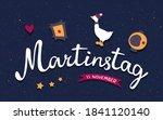 martinstag or saint martin day... | Shutterstock .eps vector #1841120140