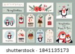 christmas tags labels greeting...   Shutterstock .eps vector #1841135173