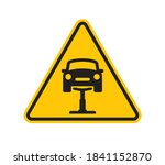 vector triangle yellow sign...   Shutterstock .eps vector #1841152870