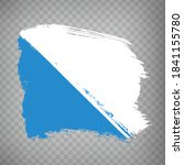 flag of zurich brush strokes....