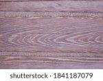 Part Of Natural Wooden Desk...