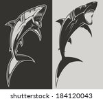 shark | Shutterstock .eps vector #184120043